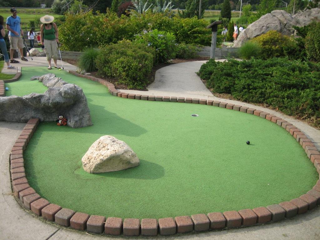 Mulligan S Island Miniature Golf