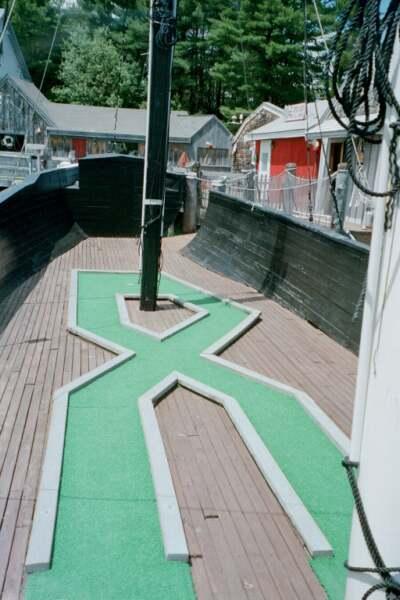 Description: Description: Description: Description: Schooners Miniature Golf
