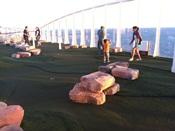 Oasis of the Seas Minigolf