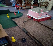 South Windsor Library Miniature Golf